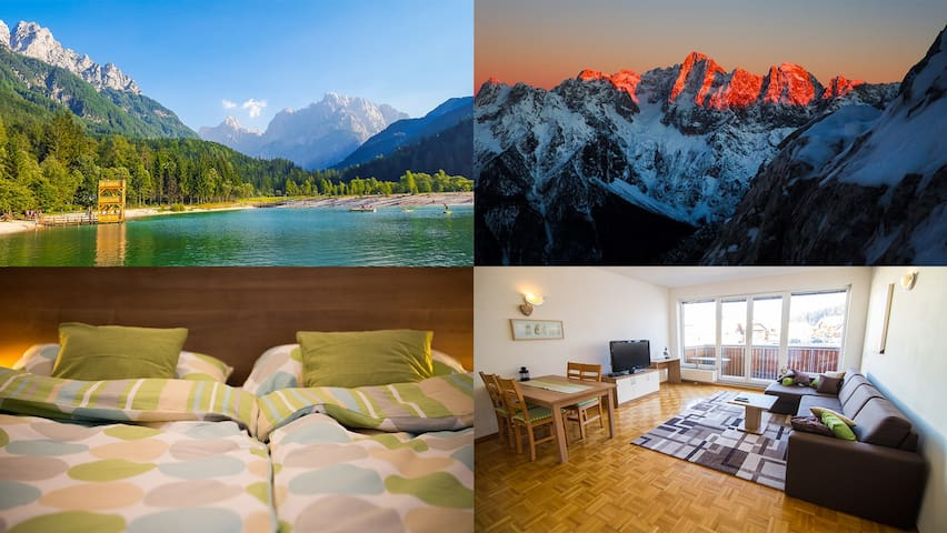 Cozy Apartment Planika in Kranjska Gora - Kranjska Gora - Appartement