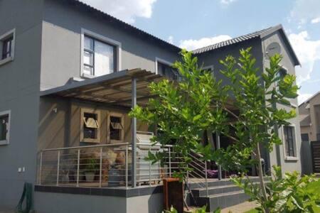 Modern home in secure estate.