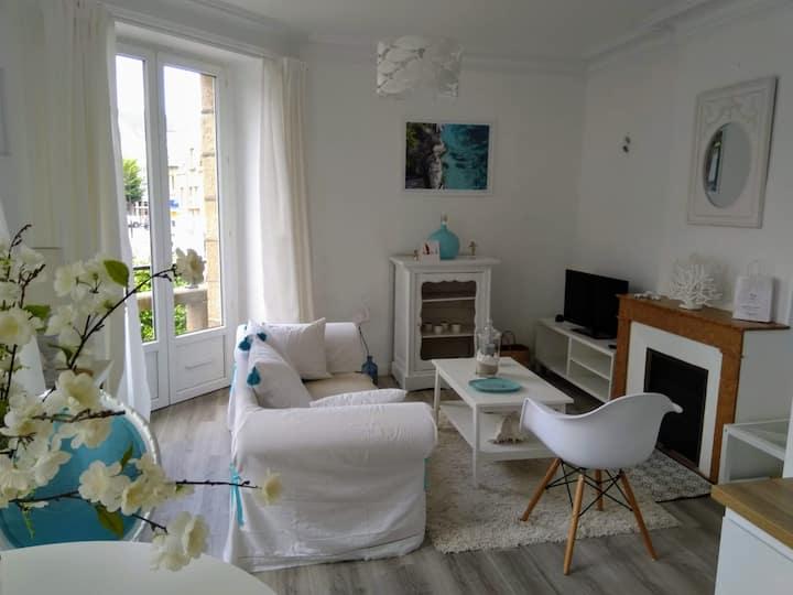 Appartement en centre ville de Perros-Guirec.