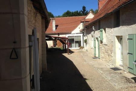 Agréable longère à Châtellerault avec piscine
