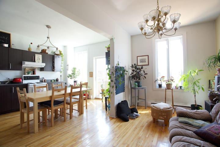 Camera comoda in bell'appartamento