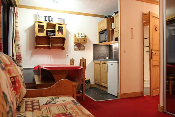4 persons apartment, close to the slopes