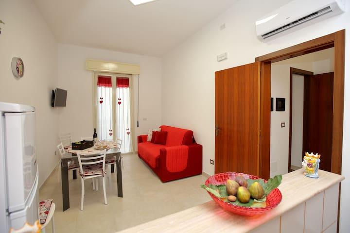 La casa di Cristina, Appartamento al primo piano