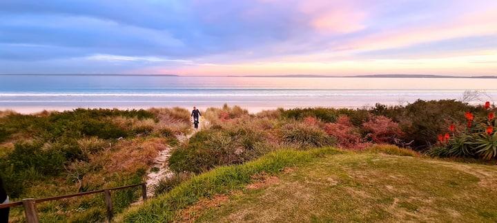 Callala Beach - Where the garden meets the sand!