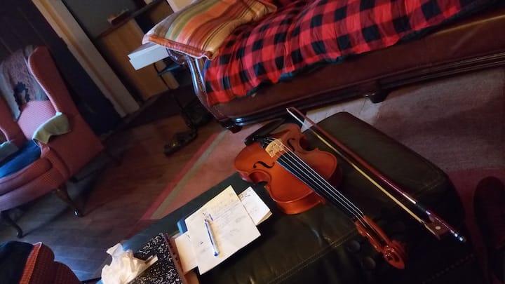 String Quartet Retreat for SOLO WOMAN travelers