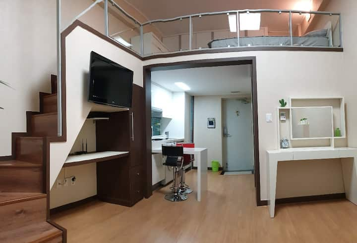 Cozy duplex studio / location in Gangnam:)