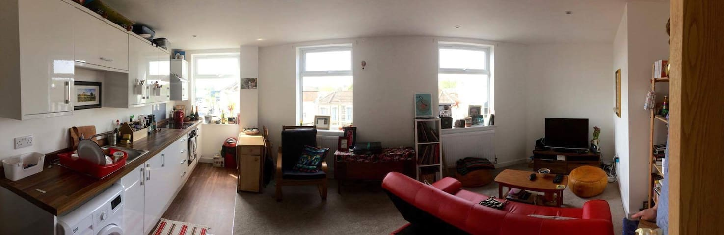 Gorgeous double room in a nice new building nest. - Bristol - Apartment
