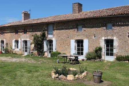 Chambre à la campagne proche de Poitiers
