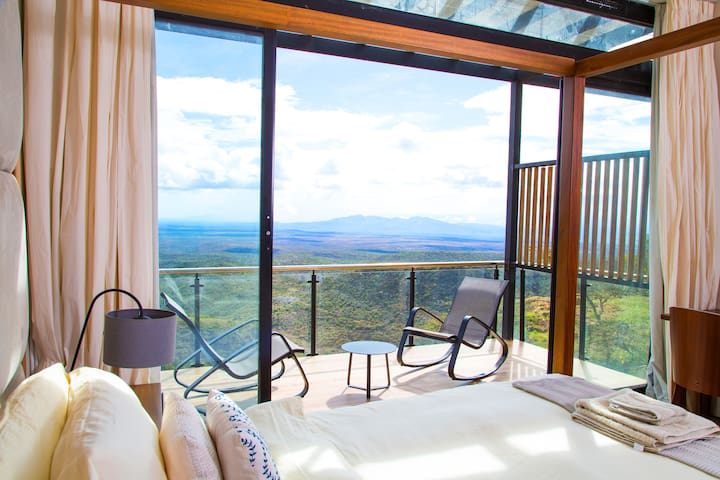 Private balconies with magical views