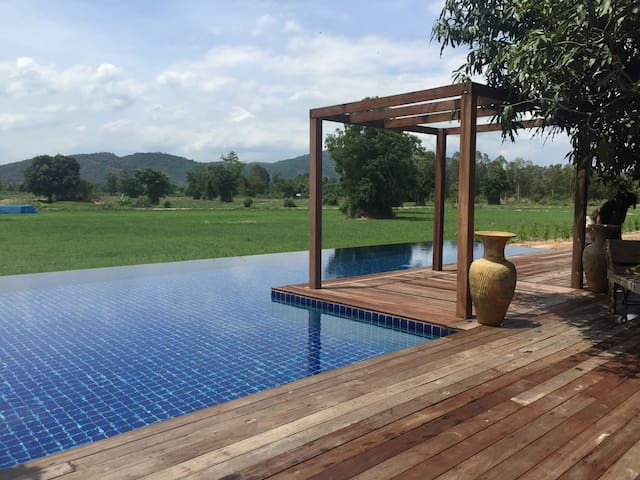 Mountain View  Private Pool Villa Great View - Bung Khohai - Villa