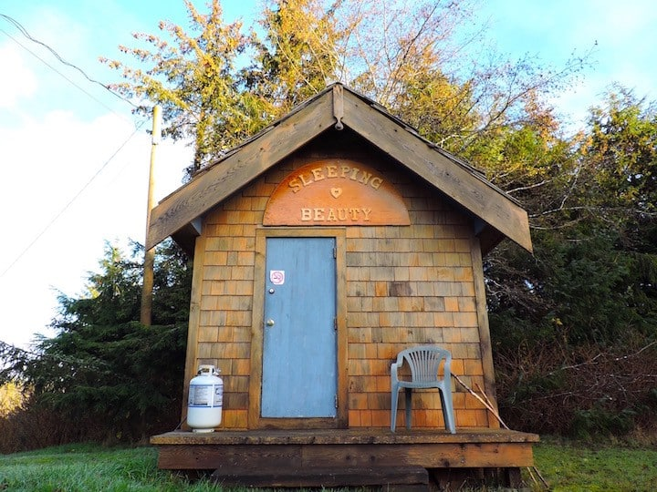 The Sleeping Beauty Cabin
