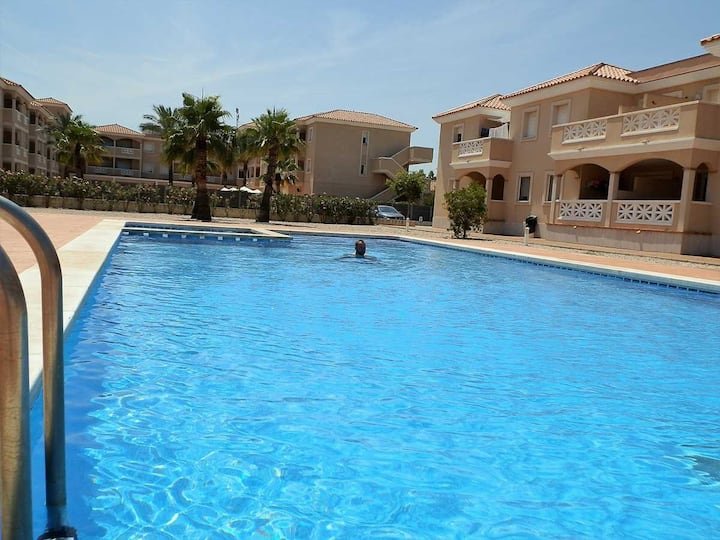 AP ECODUNES, Ideal house for your holidays near the sea, free wifi, air conditioning, community pool, pets allowed, dog's beach.