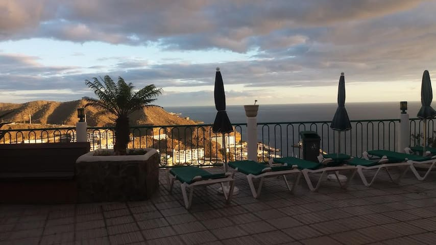 Puerto Rico quiet place good price max4persons - Puerto Rico de Gran Canaria