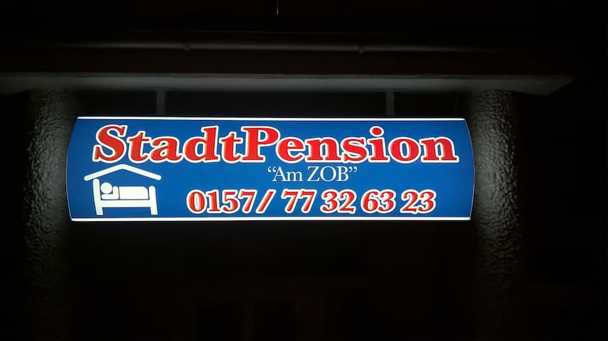 "StadtPension ""Am ZOB"" - Geesthacht"