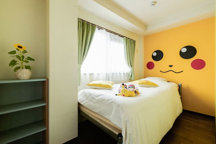 3BD Pokemon Apartment with easy access to USJ