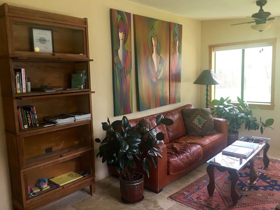 sunroom/living room