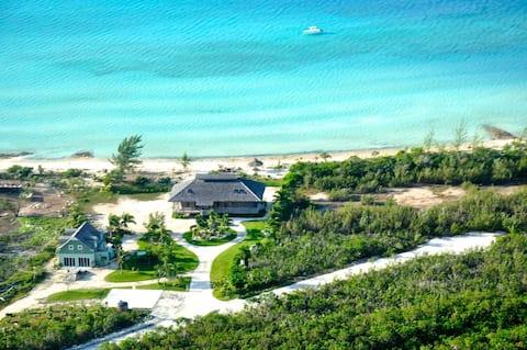 Sunset Beachfront Estate w/moorings