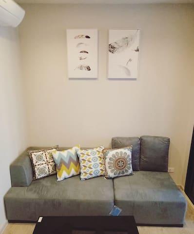 芭提雅中心黄金位置小清新一居,家具家电全适合常租 - pattaya - อพาร์ทเมนท์