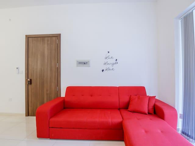 Appartement avec 3 chambres à coucher, 9 personnes