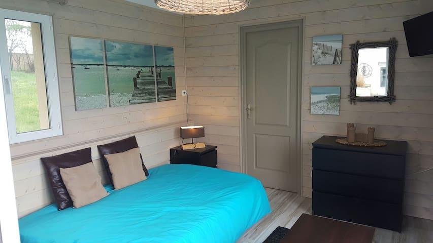 Charmante chambre indépendante avec sdb privative - Plaimpied-Givaudins  - Rumah