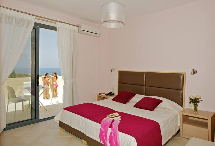 Carme Villas 800 m. from the sea private pool 4 - Adelianos Kampos - Vila