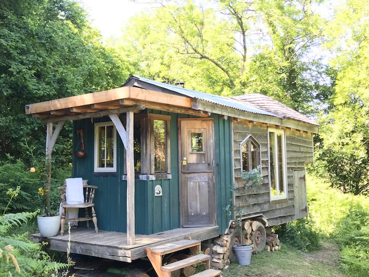 Dingle Glenn secluded woodland Shepherds Hut