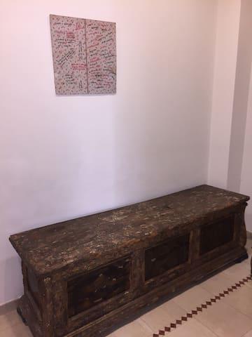 Renaissance chest detail
