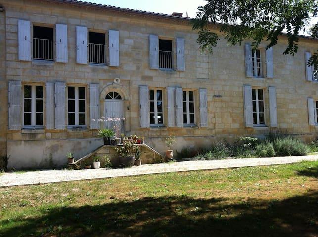 Chambre d'hôtes des 2 rivières - Coutras - Pension