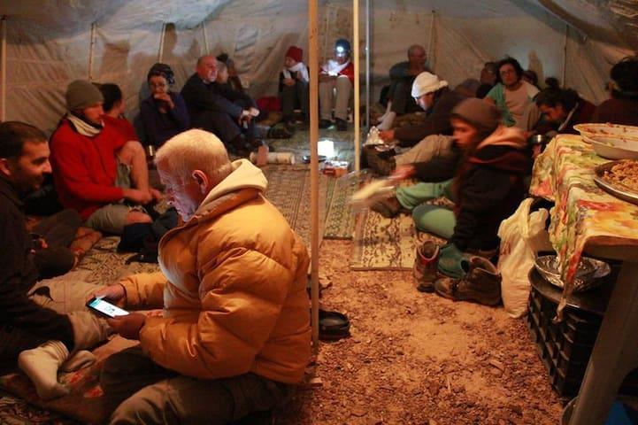 Stay in bedouin tent in petra