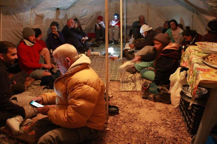 Camp under the stars in Petra  Bedouin camp  !