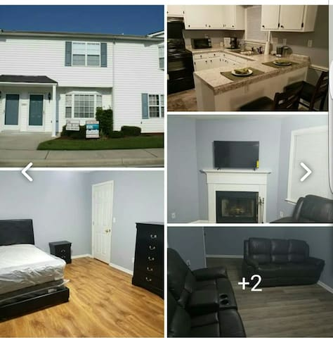 Cozy 3 Bedroom Townhouse near Hospital and College
