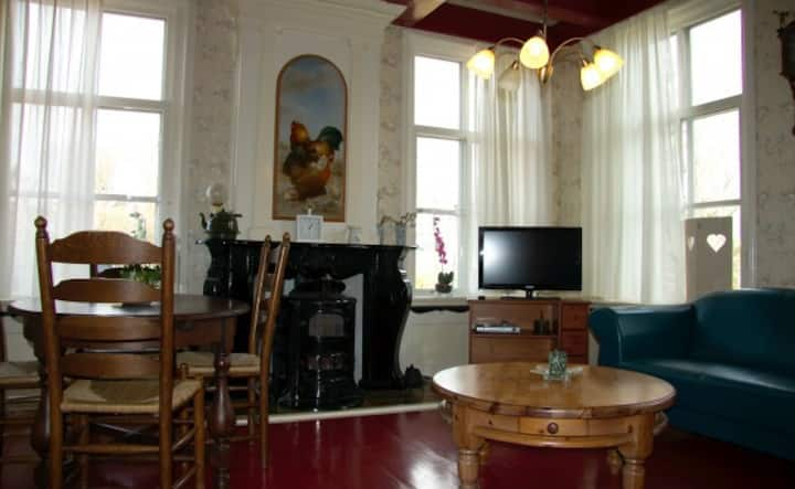 6 pers appartement 2e aan waddenzee