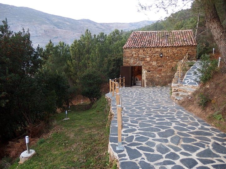 Palheiro (loft) no meio da Serra da Estrela