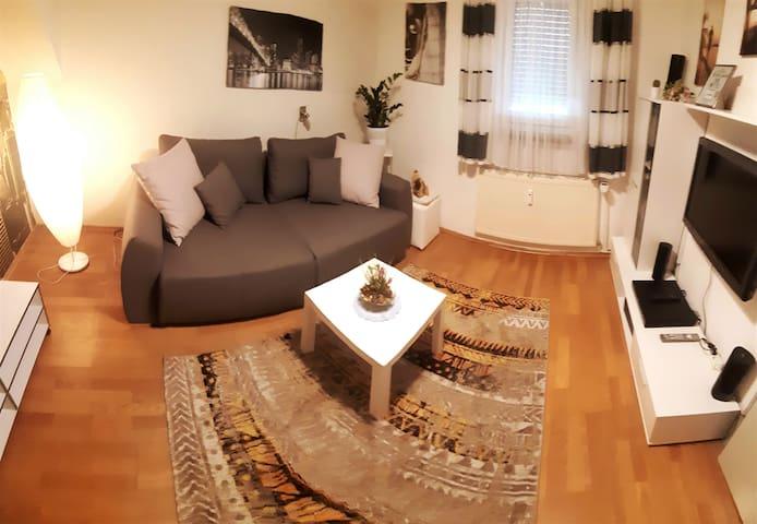 Komplett ausgestattete Wohnung in Stadtnähe