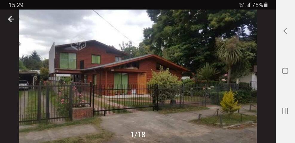 Casa Lican Ray 16 personas