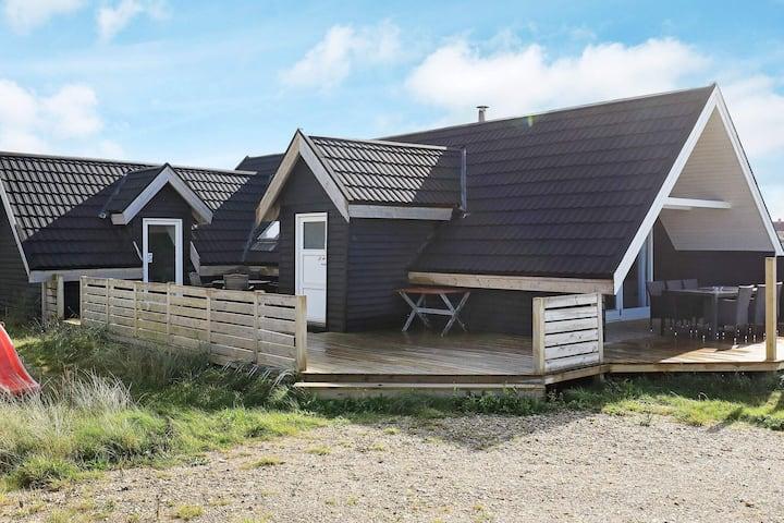 Tranquilla casa vacanze a Thisted con terrazza