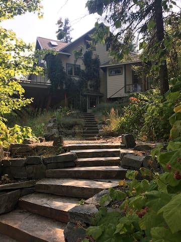 Sunshine House - private partial suite