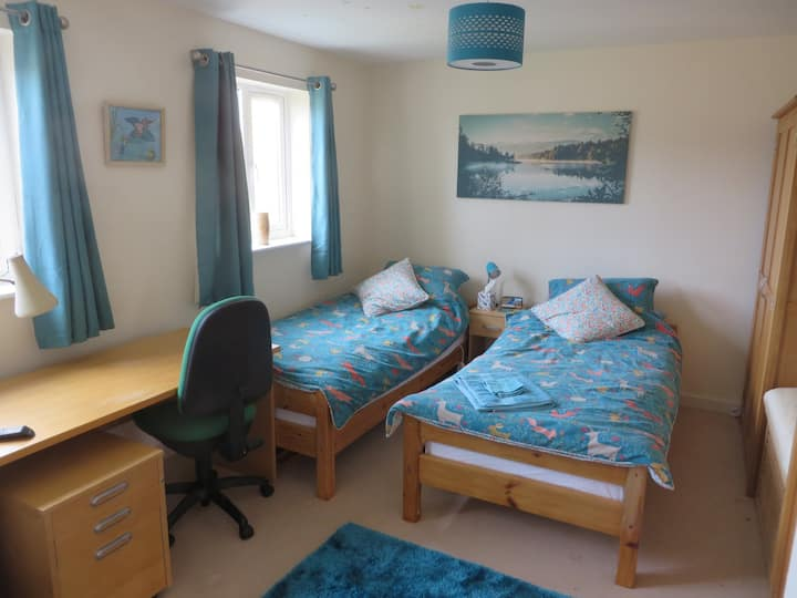 Woodmancote Accommodation (Twin Room)