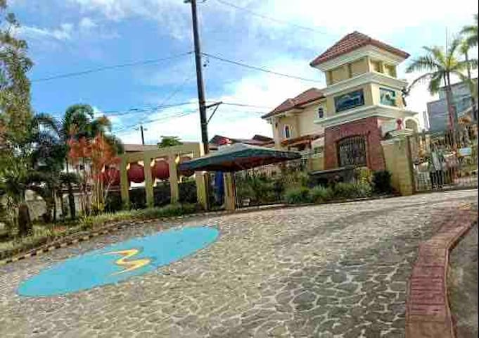Two storey house with garage in Lucban Quezon.