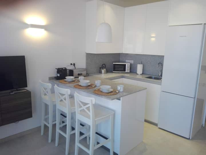 Central small flat for 2 in Las Palmas