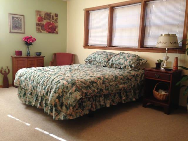In-Law Suite Bedroom, N. Buckhead