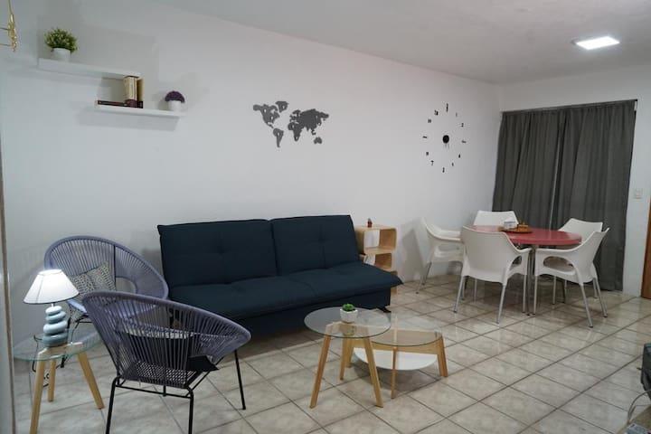 Amplia y confortable estancia, que hará de tu viaje una experiencia inolvidable