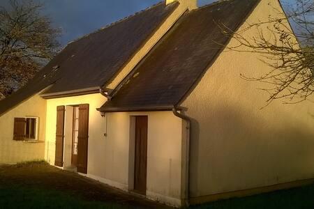 Maison au cœur du bocage normand, centre Cotentin.