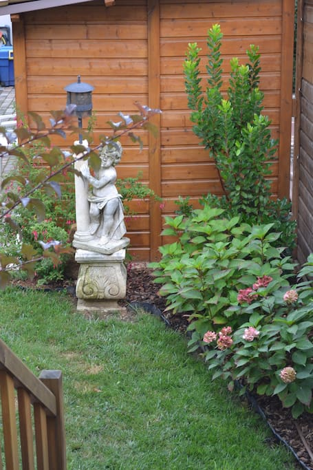 We love to garden and hope you will enjoy the results