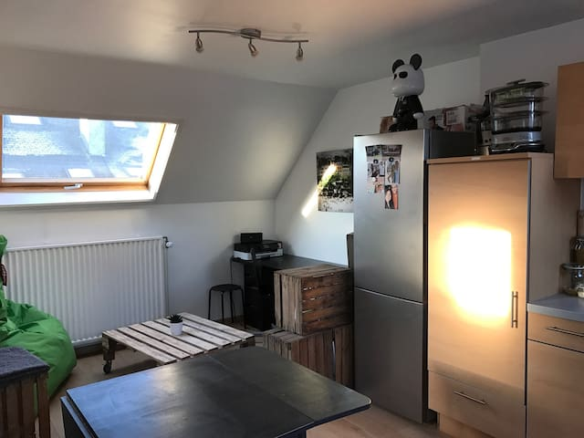 Cosy studio in the city center - Namur - Lägenhet