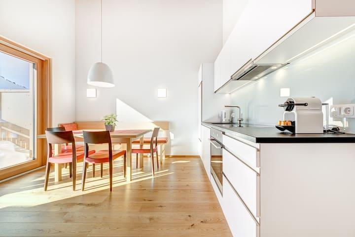 Appartement 10 mit Fichtenholz, 3 Schlafzimmer
