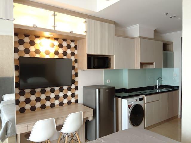 Jakarta Pusat Apartemen Menteng Park,Tower Saphire