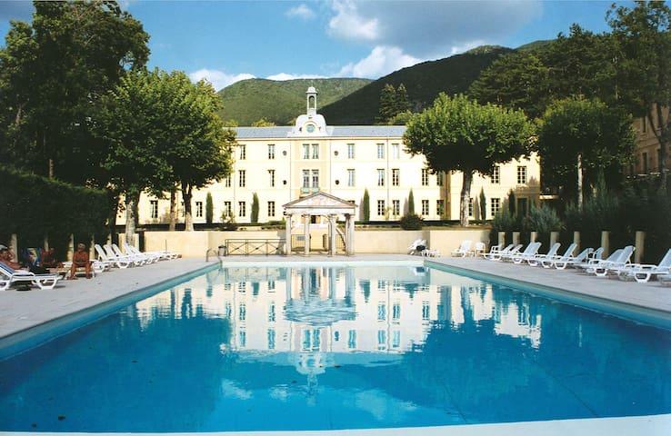PENTHOUSE (6p) in Chateau des Gipieres - Montbrun-les-Bains - Lejlighed