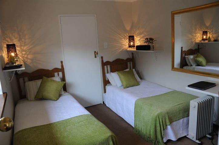 A Peaceful Retreat B&B  -  twin en suite bedroom
