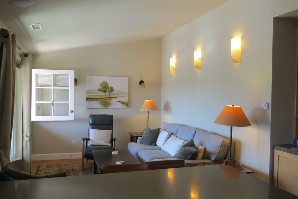 Welcoming living area
